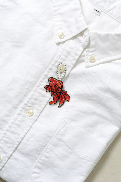 Kingyo- Golden Fish Embroidery Brooch