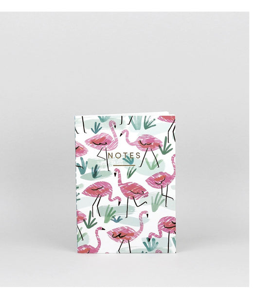 Mini Flamingos Notebook