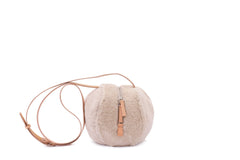 Helmet Bag S in Curly Tan