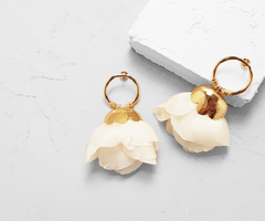 Dulcuta Blanc Earrings