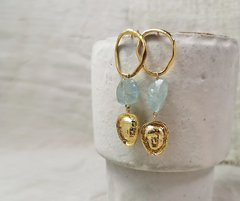 PYRGI blue Earrings