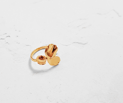 PENSEES Gold ring (Small)