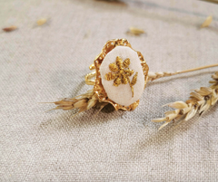Anemone Gold Ring