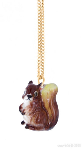 Squirrel Mini Necklace