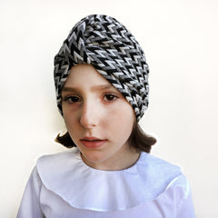 Herringbone turban