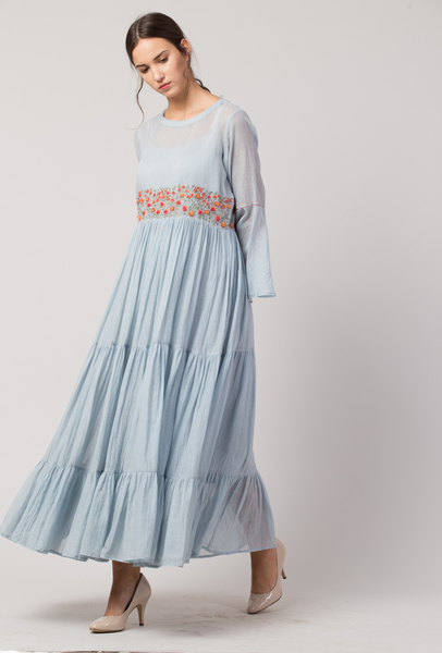 Dress Anya in Powder Blue