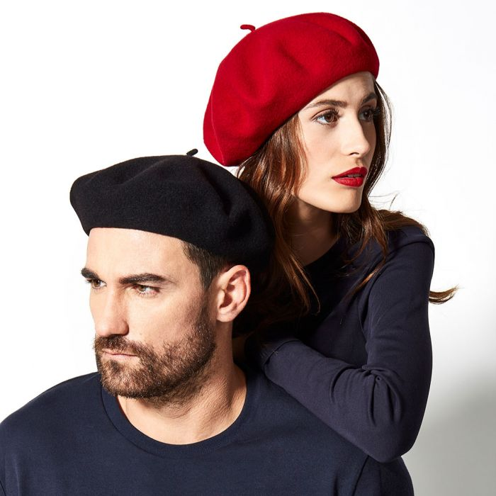 Beret Authentique in Passion Red