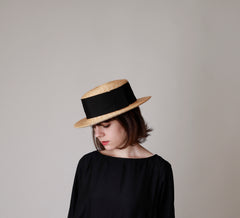 Hat Cerena (Natural X Black)
