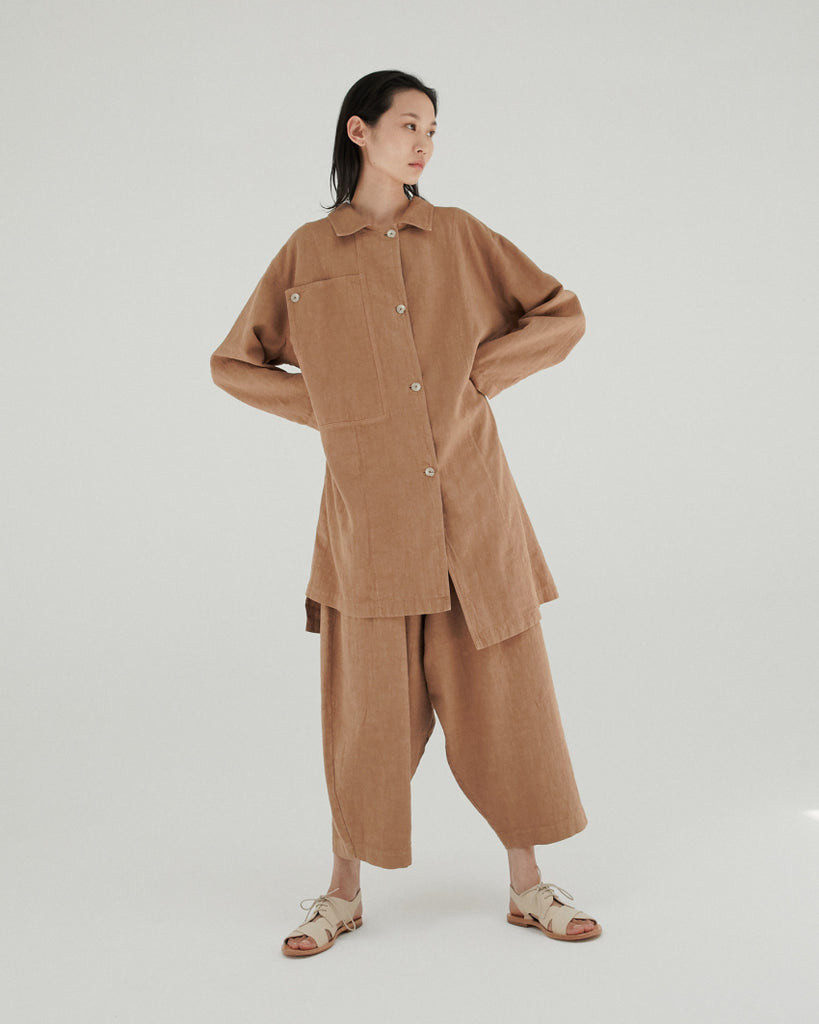 CLAY POT RAMIE POCKET COAT