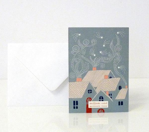 """Sparkle"" Pack of 6 Greeting Cards"
