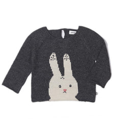 Bunny Sweater Dark Grey