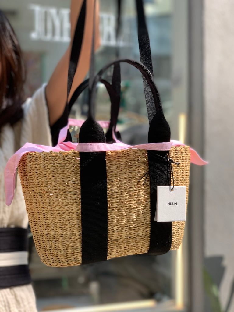 Panier Mini Caba with Pink Pouch