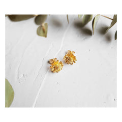 Marguerite Earrings Small