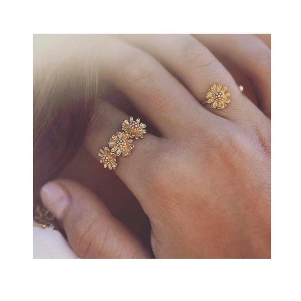 Marguerite Simple Ring