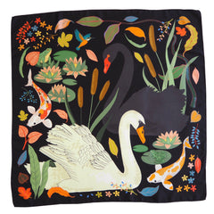 Swan Lake Silk Scarf