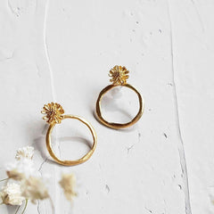 Marguerite Earrings Medium