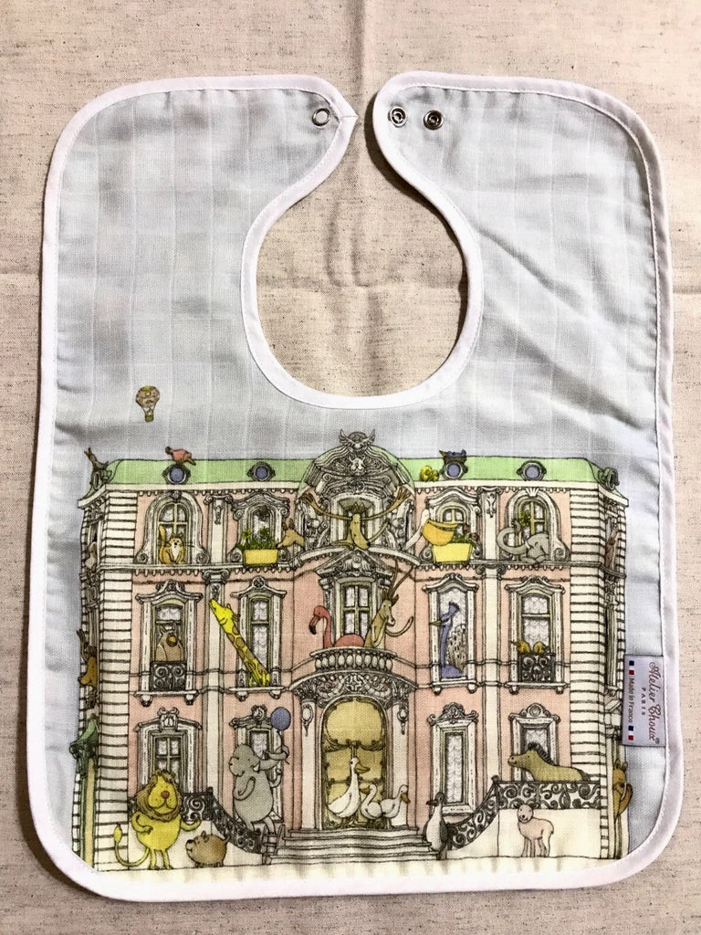 Monceau Mansion Large Bib