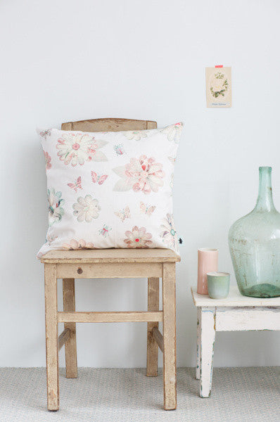 Flowers cushion cover