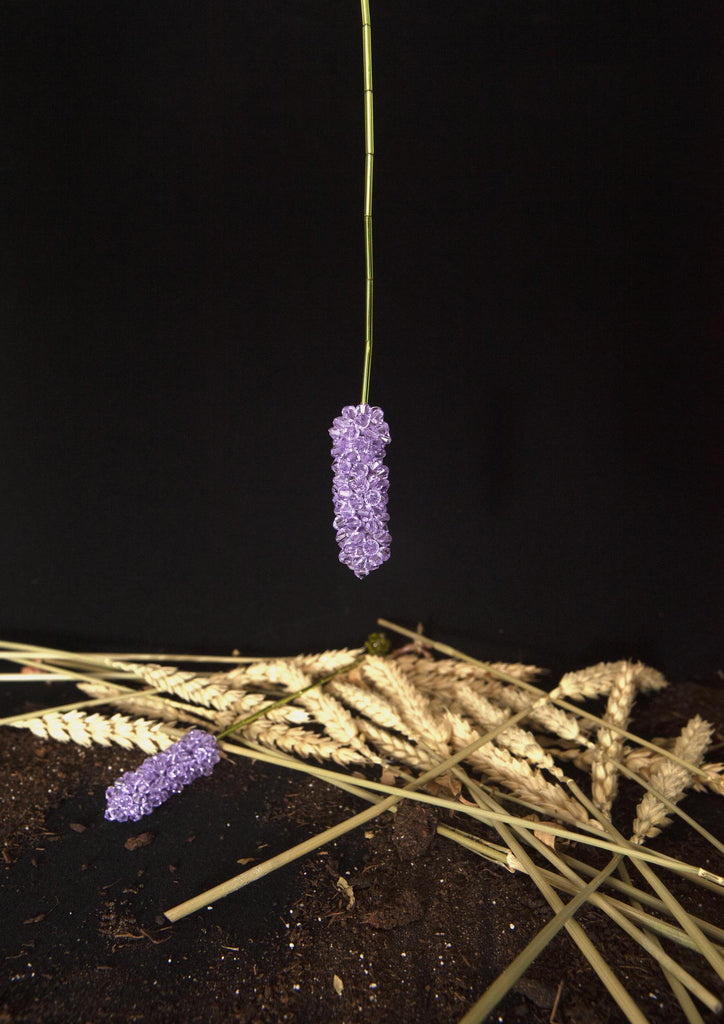 Lavendula Angus (Single Earring)