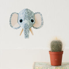 Elephant wall sticker spots