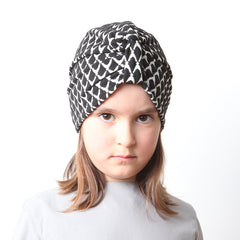 Black & White Turban