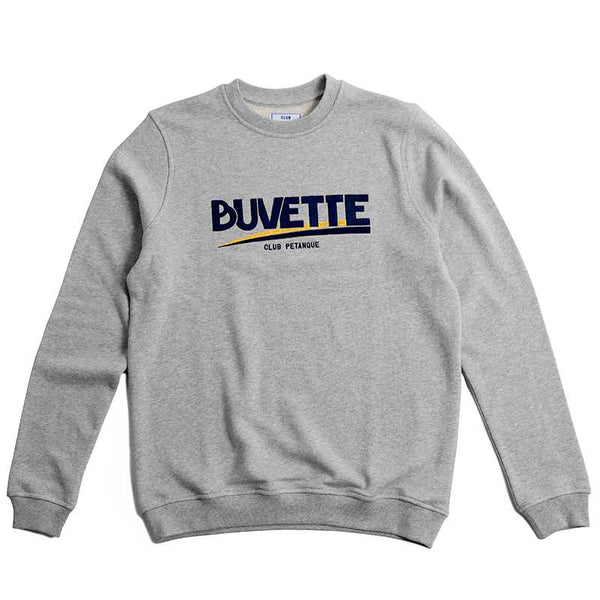 Buvette Sweat in Heather Grey