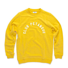 Université Sweat in Lemon Chrome