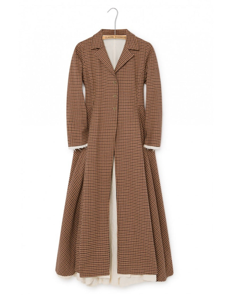 Woman Tweed Coat