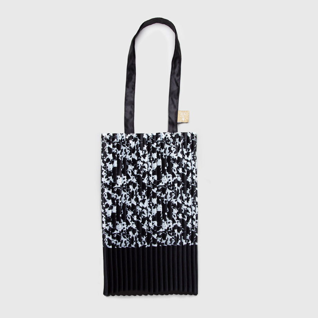 MACCHIATO PLEATED TOTE