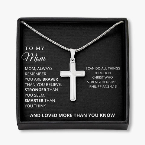 Cross Necklace for Mom