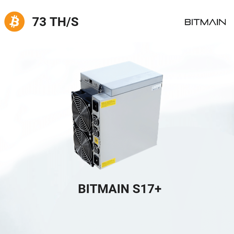Bitmain Antminer S17+ – Bitcoin 73TH/S