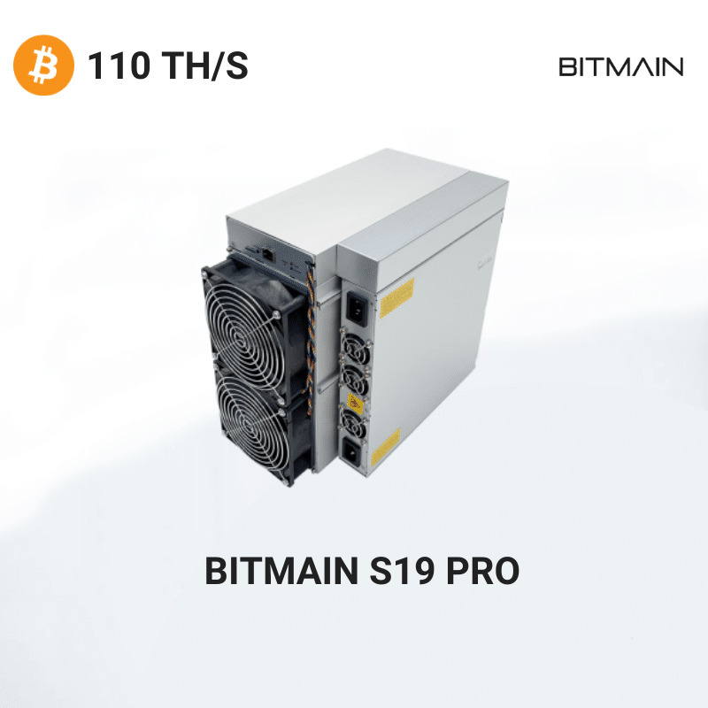 Bitmain Antminer S19 PRO – Bitcoin 110TH/S