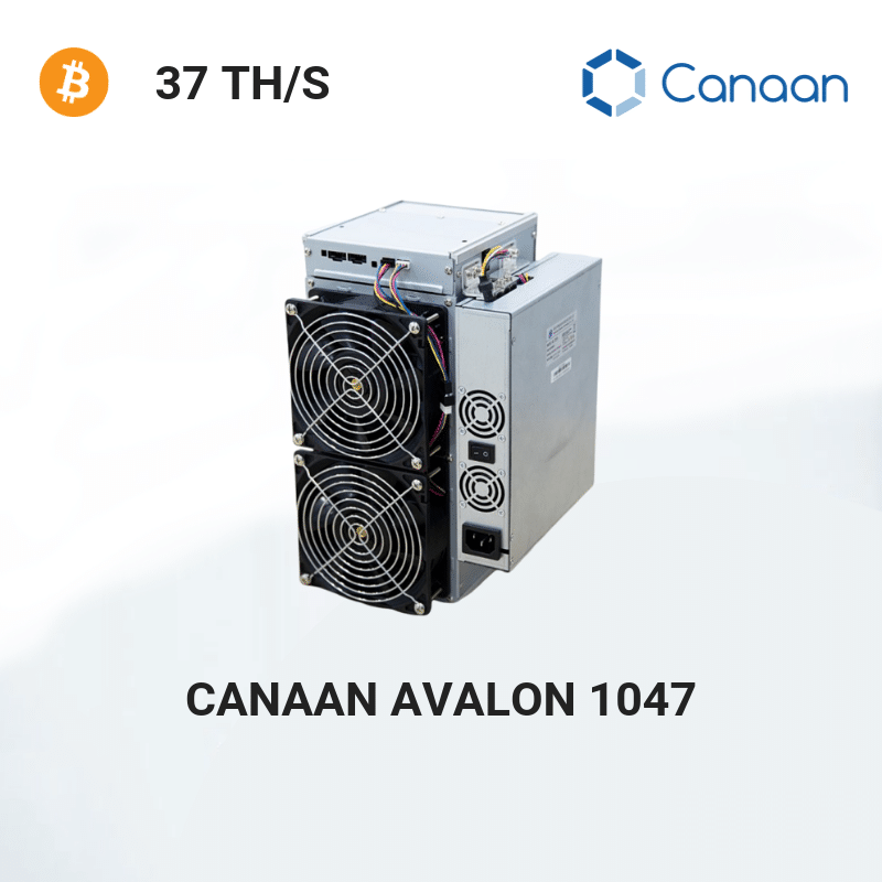Canaan Avalon 1047 – Bitcoin Miner 37 TH/S