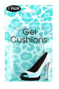 Gel Cushion Comfort Pads - Clear 1 Pair - Natasha Marie Clothing