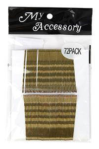 Regular Bobby Pins in Blonde 72 Pack - Natasha Marie Clothing