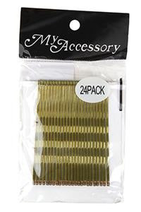 Long Bobby Pins in Blonde 24 Pack