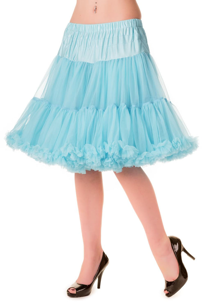 Walkabout Petticoat in Blue - Natasha Marie Clothing