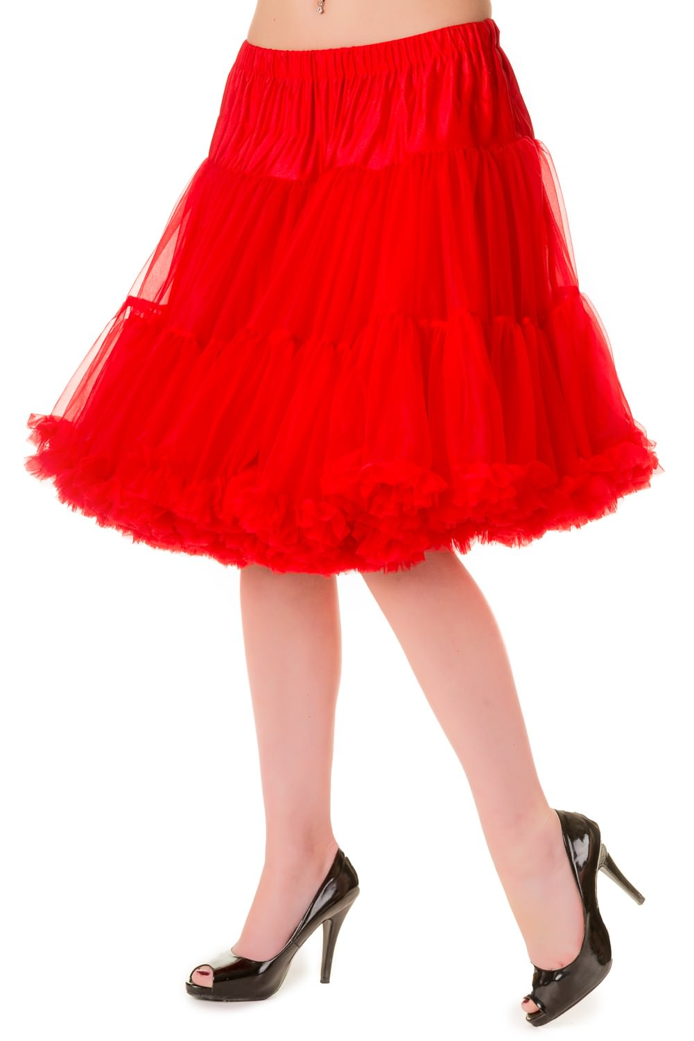 Walkabout Petticoat in Red - Natasha Marie Clothing