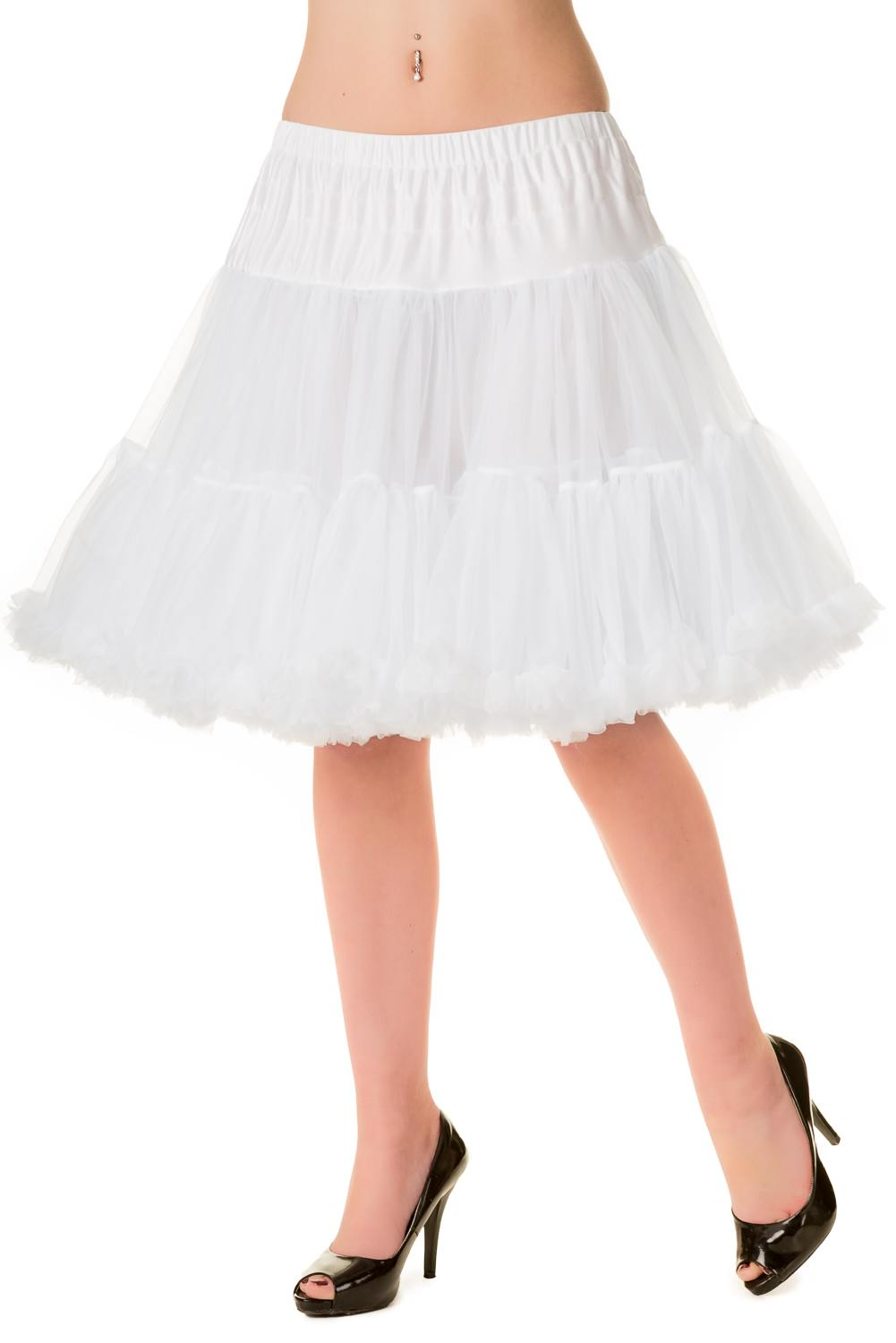 Walkabout Petticoat in White