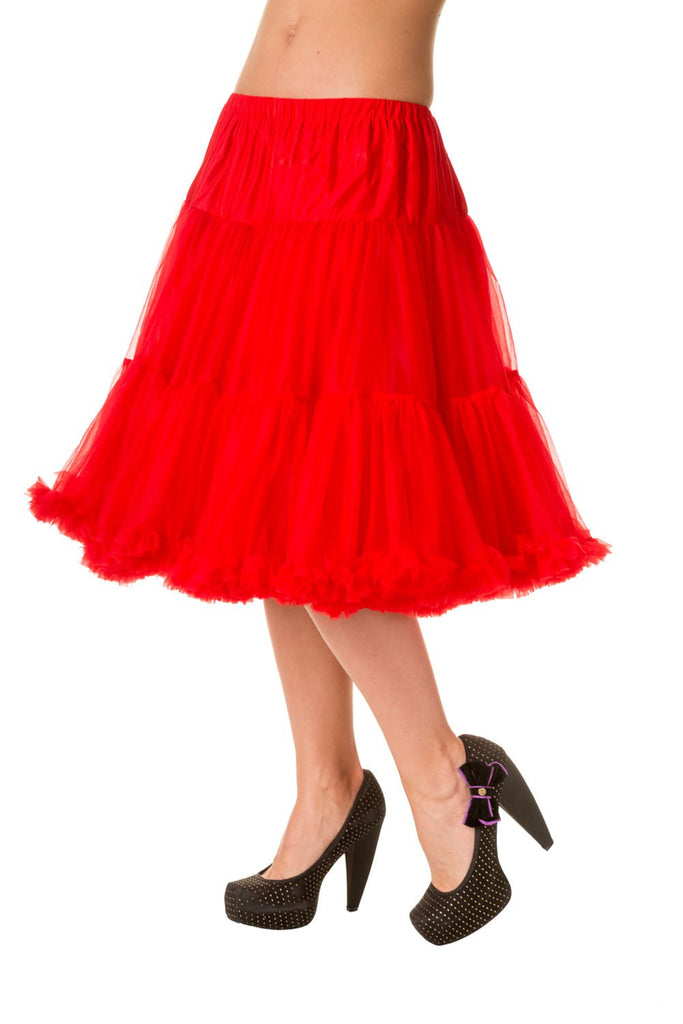 Starlite Petticoat in Red - Natasha Marie Clothing