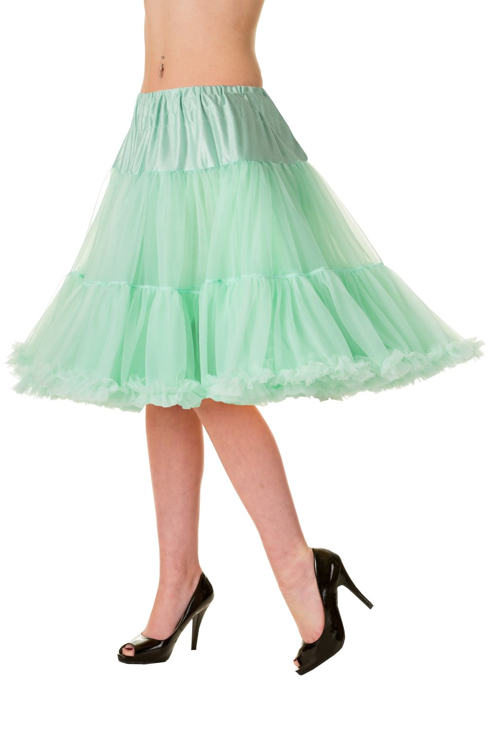 Walkabout Petticoat in Mint - Natasha Marie Clothing