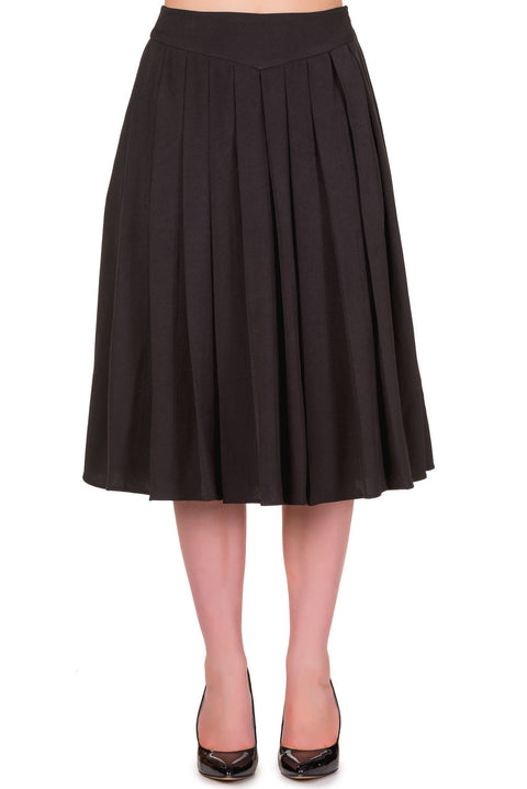 Take A Hike Skirt in Black