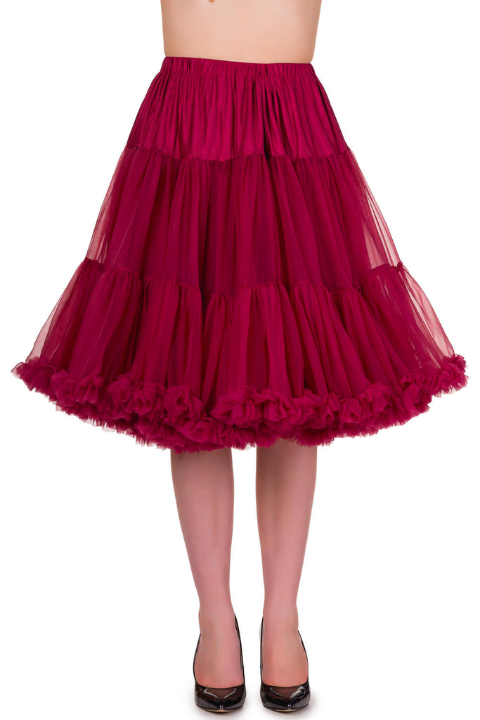 Starlite Petticoat in Bordeaux