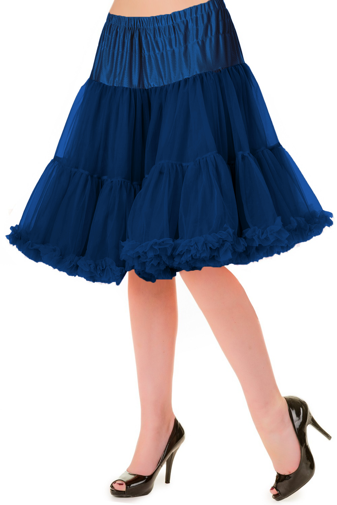 Walkabout Petticoat in Navy - Natasha Marie Clothing