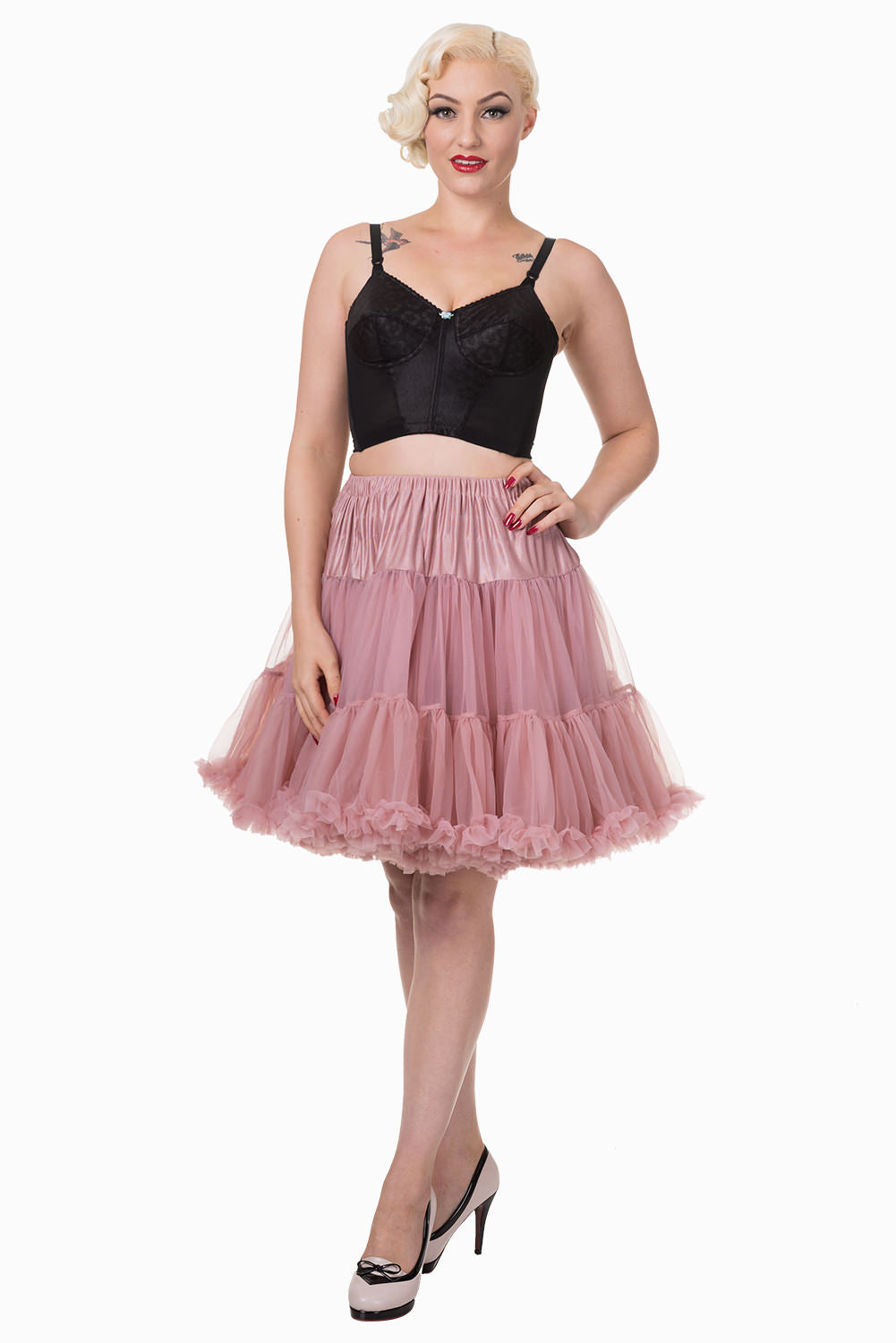 Walkabout Petticoat in Dusty Pink - Natasha Marie Clothing