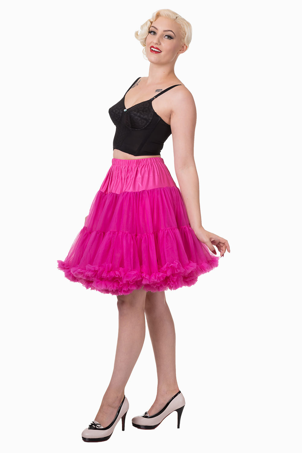 Walkabout Petticoat in Hot Pink - Natasha Marie Clothing