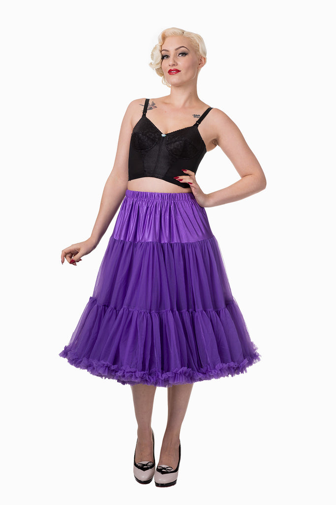 Lifeforms Petticoat in Purple