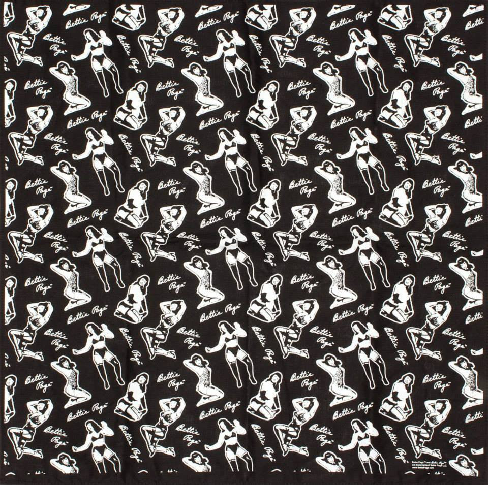 Bettie Page Bandana