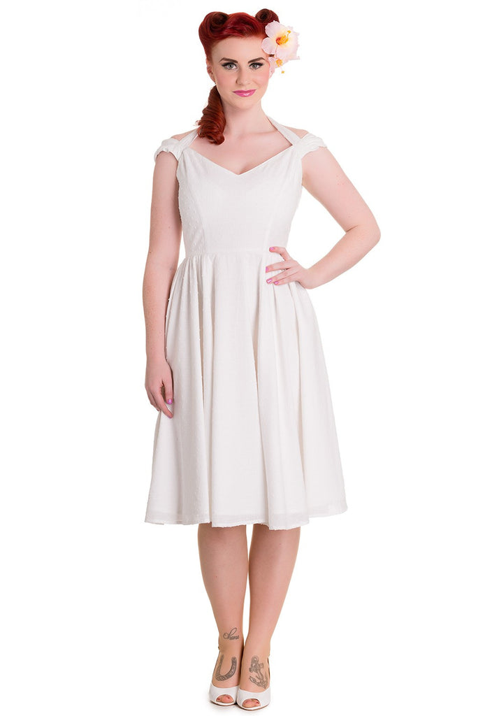 Eveline Dress in White