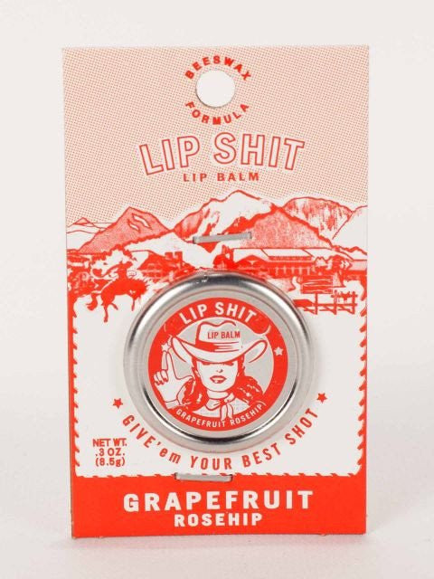 Lip Shit Lip Balm-Grapefruit Rosehip